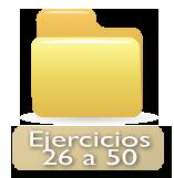 ejercicios 26 a 50