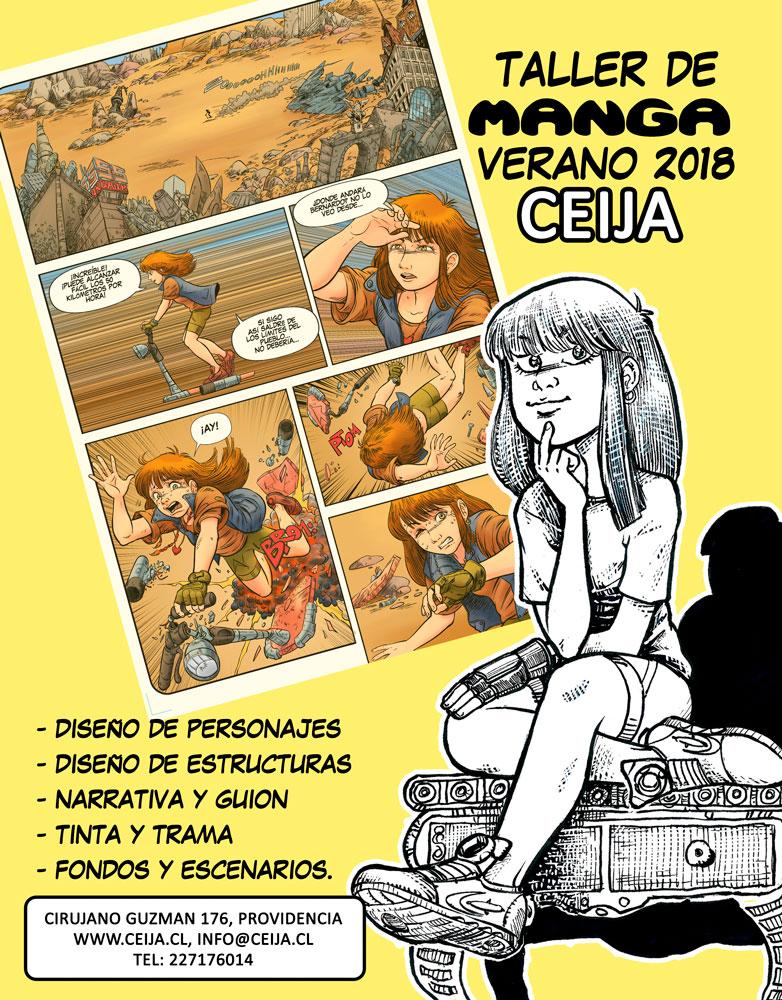 afiche-taller-manga-verano-2018-ceijabaja